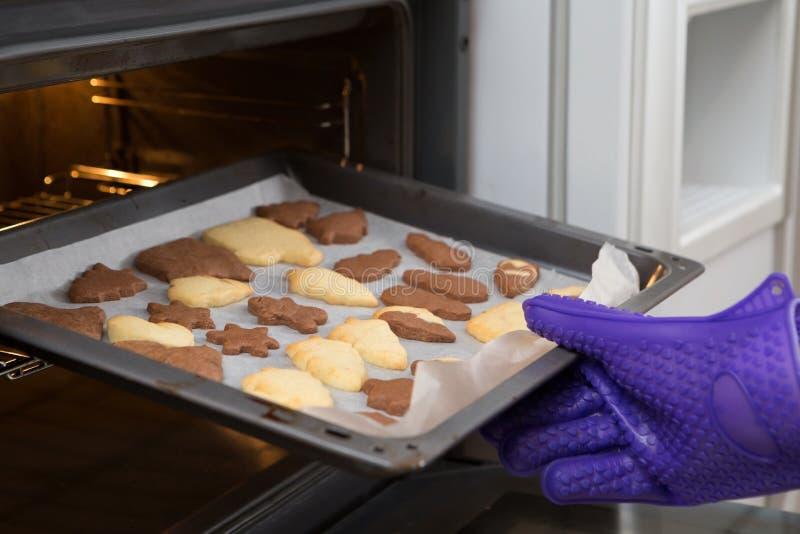 Świeżo Piec Domowej roboty wycinanek ciastka obrazy stock