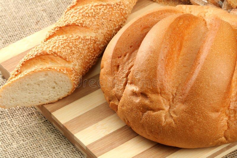 świeżo pieczenia chleba fotografia stock