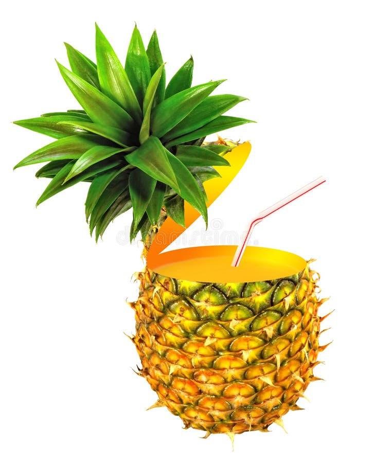 Świeży ananas obraz royalty free