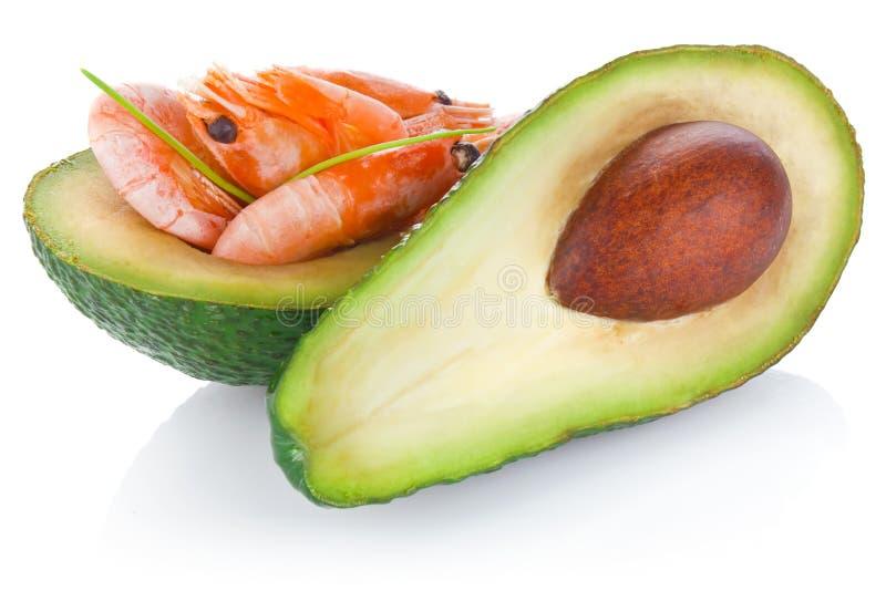 Download Świeży avocado z garnelą zdjęcie stock. Obraz złożonej z liść - 28971072