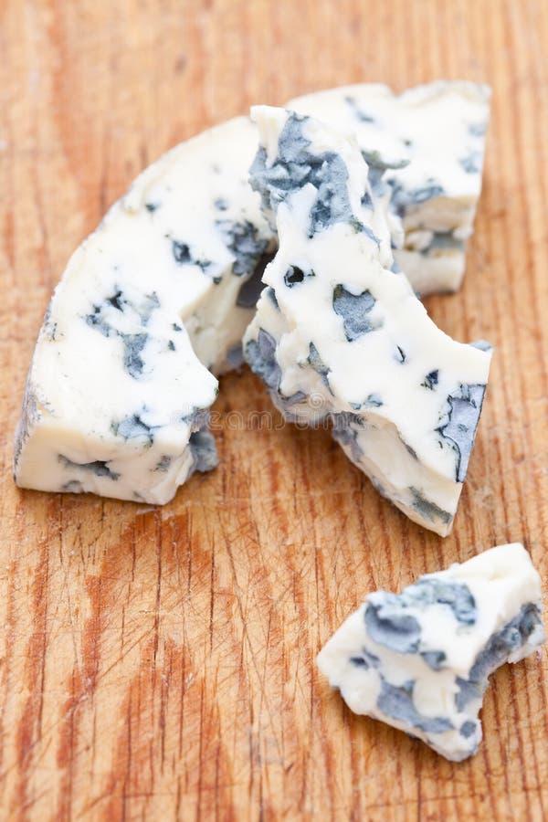świeży błękitny ser obrazy stock