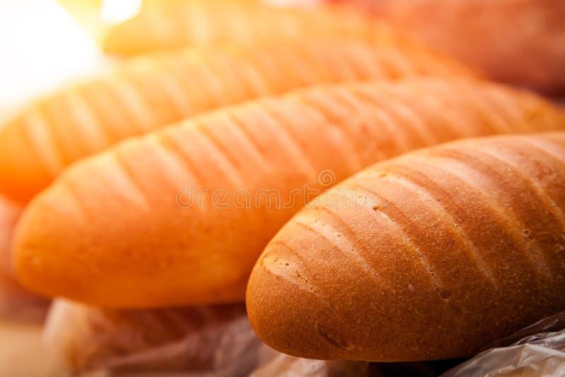 Świeży Biały chleb fotografia royalty free