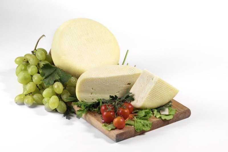 świeży caciotta ser zdjęcia stock