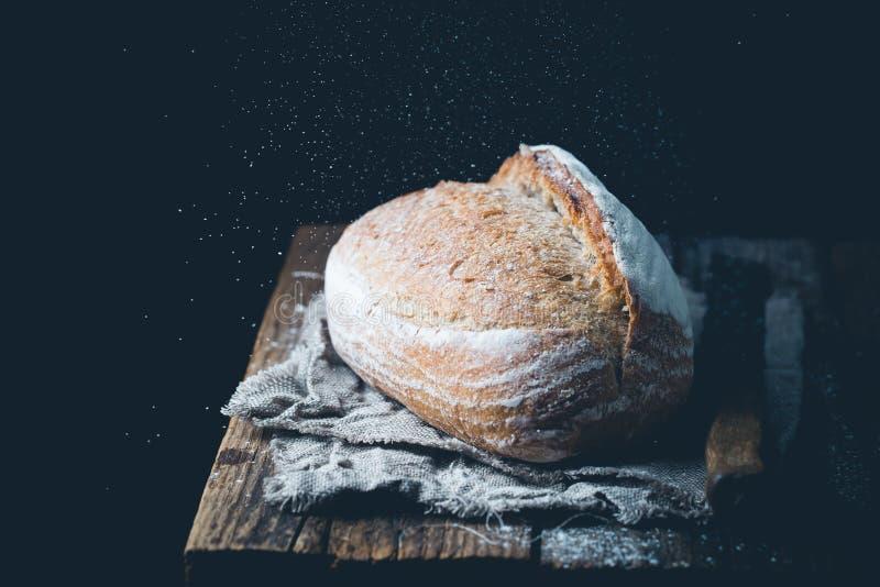 Świeży chleb domowy fotografia royalty free