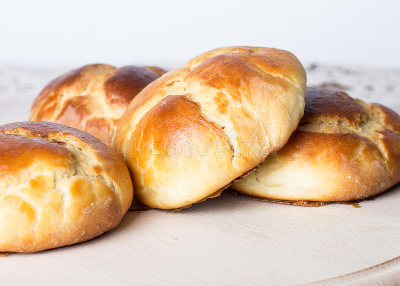 Świeży domowej roboty chleb fotografia stock