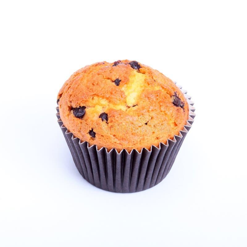 Świeży domowej roboty tort i słodka bułeczka na parciak wyplatającym tekstury tle Selekcyjna ostrość zdjęcia stock