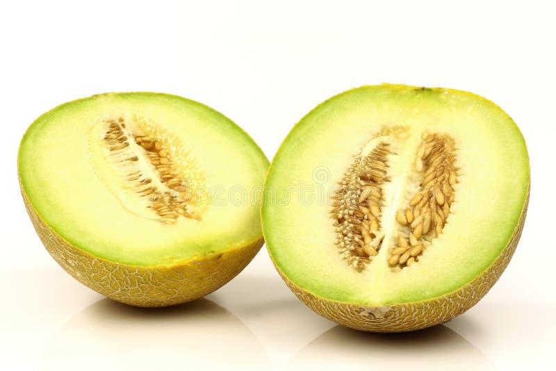 świeży galia przekrawa melon obraz royalty free