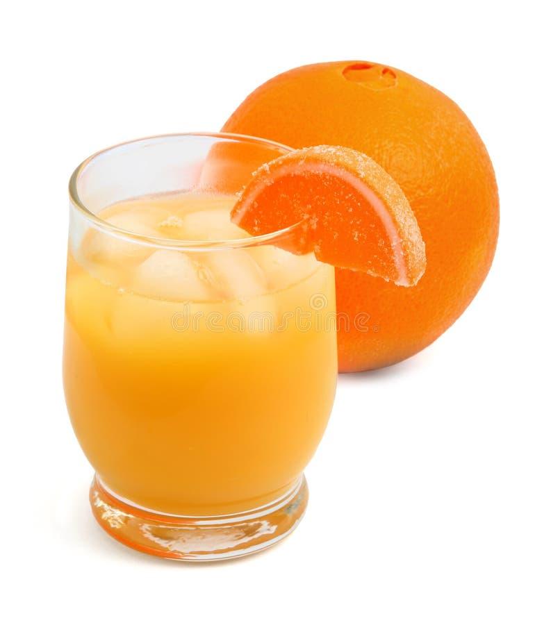 Świeży Gniosący Sok Pomarańczowy zdjęcie royalty free