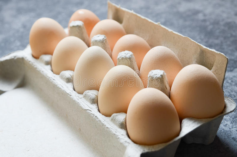Świeży jajka tło obraz stock