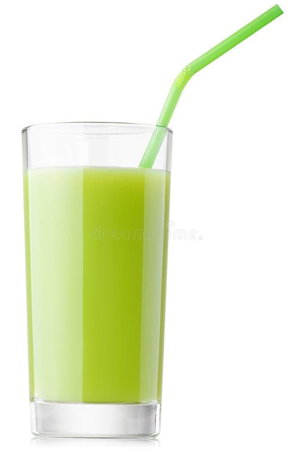 Świeży kiwi sok, pietruszka, brokuły obrazy stock