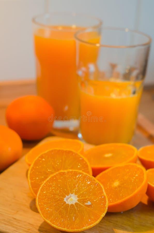 Świeży mandarynka sok obrazy stock
