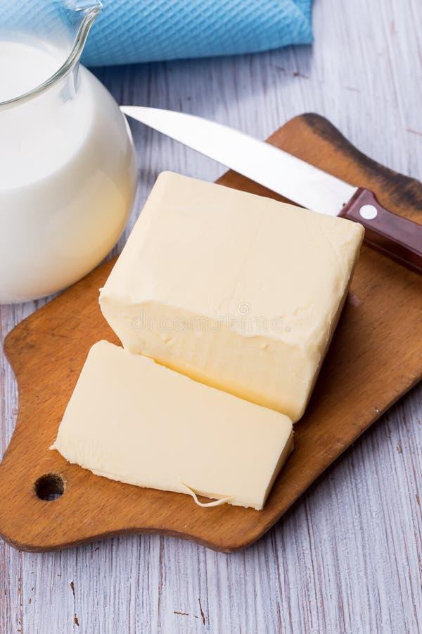 Świeży masło zdjęcia royalty free
