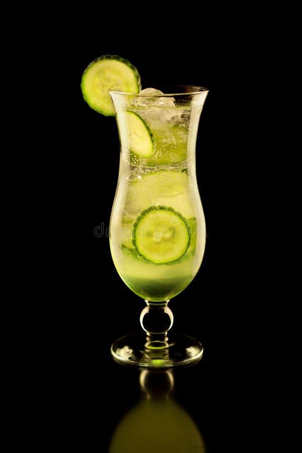 Świeży Ogórkowy napój zdjęcie royalty free