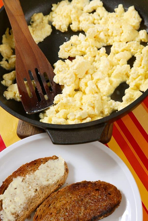 świeży omlet zdjęcia stock