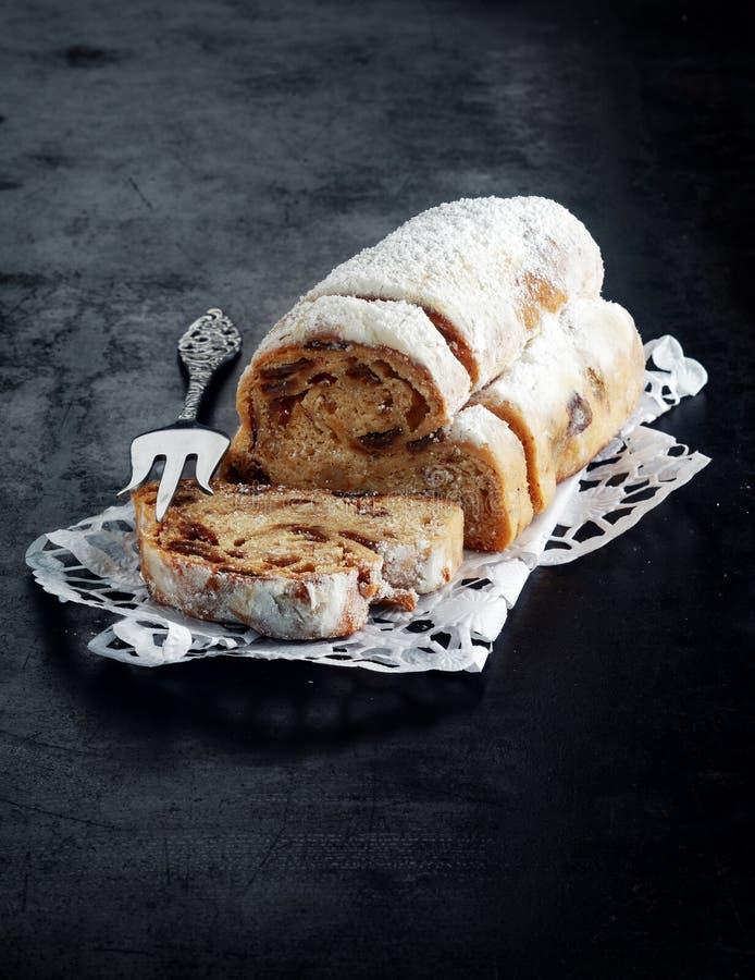 Świeży panettone chleb dla Bożenarodzeniowego sezonu zdjęcie royalty free