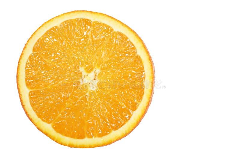 świeży pomarańczowy plasterek obraz stock