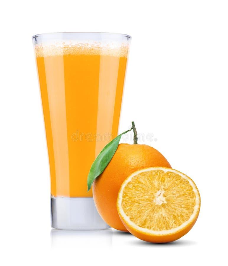 Świeży sok pomarańczowy zdjęcia royalty free