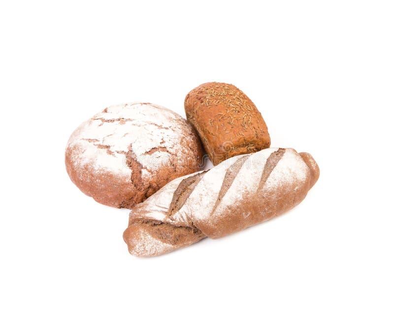 Świeżych crispy baguettes zamknięty up obraz royalty free