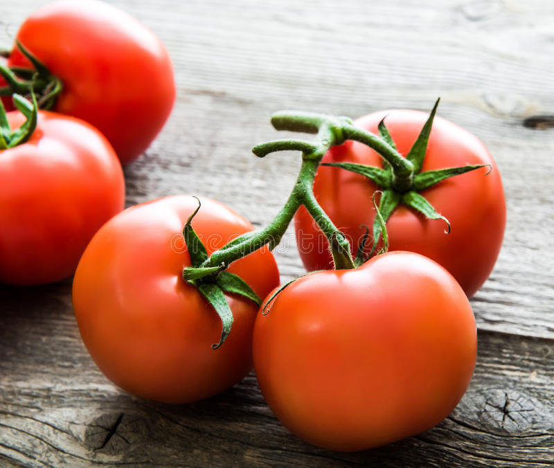 Download świeżych pomidorów zdjęcie stock. Obraz złożonej z dojrzały - 53791346