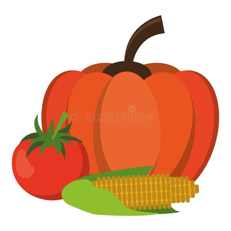 Świeżych warzyw kreskówka ilustracji