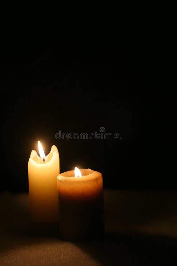 świece. fotografia stock