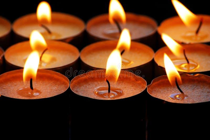 świece. zdjęcia stock
