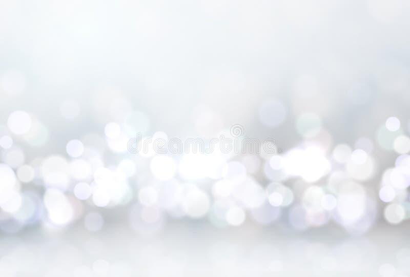 Świecenie zaświeca bokeh, dla wakacyjnego tła Magiczny skutka błyskotania światło Miękki świecenie, piękny dekoracja element royalty ilustracja