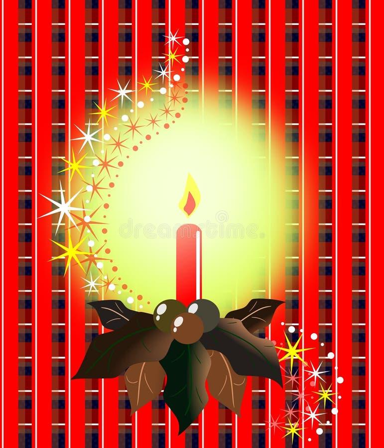 świeczek boże narodzenia ilustracji