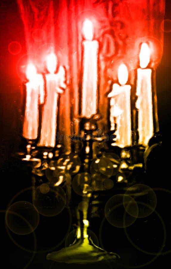 świeczka obraz cyfrowy lekki zdjęcia royalty free
