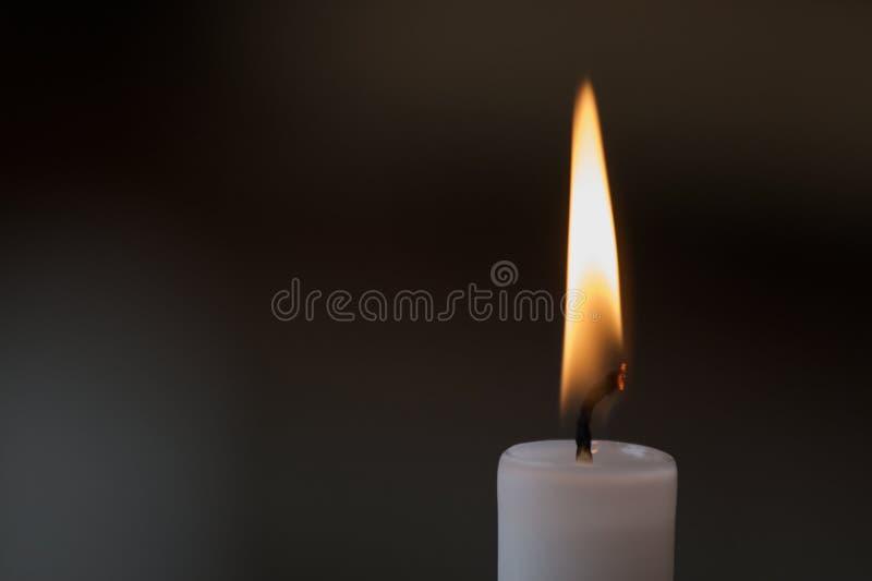 świeczka płomień zdjęcia royalty free