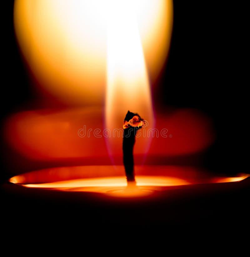 Świeczka płomienie II zdjęcia stock