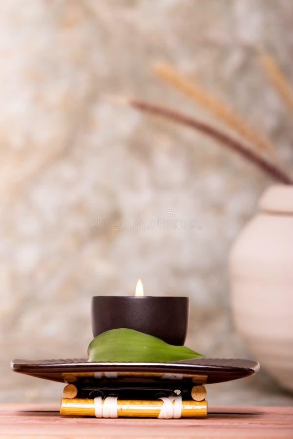 świeczka zdrój zdjęcie royalty free