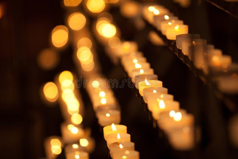 świeczki świątynne obrazy stock