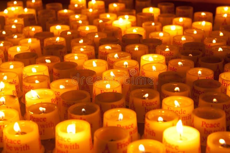 świeczki fotografia royalty free