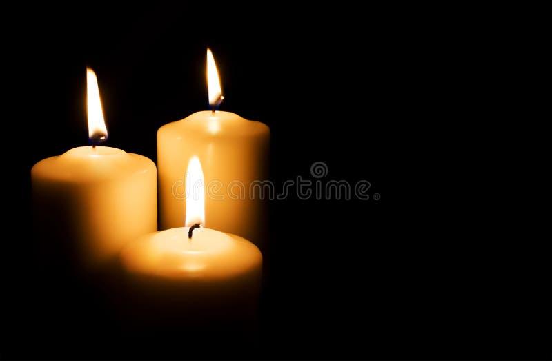 świeczki obrazy royalty free