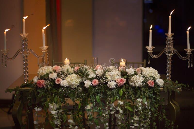 świeczki kwiat obraz royalty free