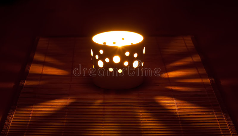 świeczki pieluchy słoma obrazy royalty free