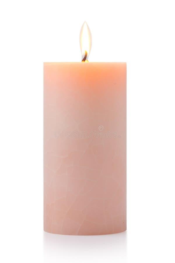świeczki pomarańcze obrazy royalty free