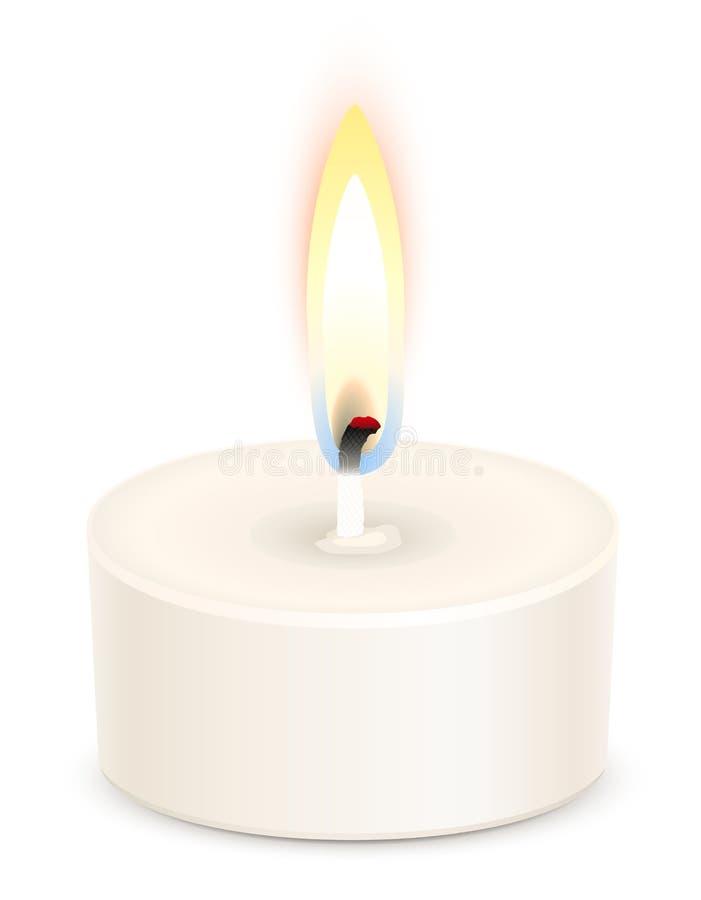 świeczki tealight royalty ilustracja