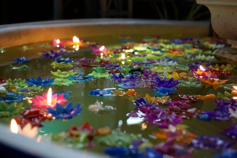 świeczki wod obrazy royalty free