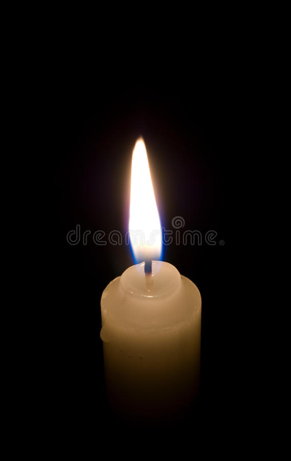 świeczki zakończenia płomień obrazy stock