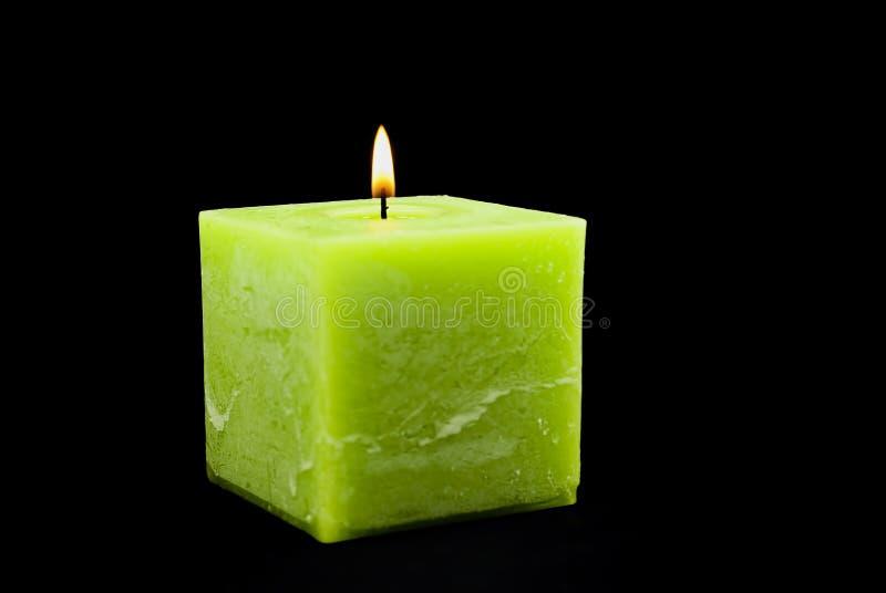 świeczki zieleń obraz royalty free