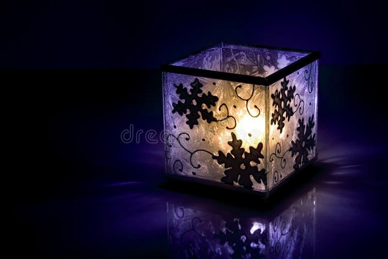 świeczki zima obrazy stock