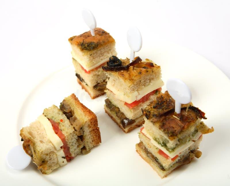 świetlicowa canape kanapka zdjęcia royalty free