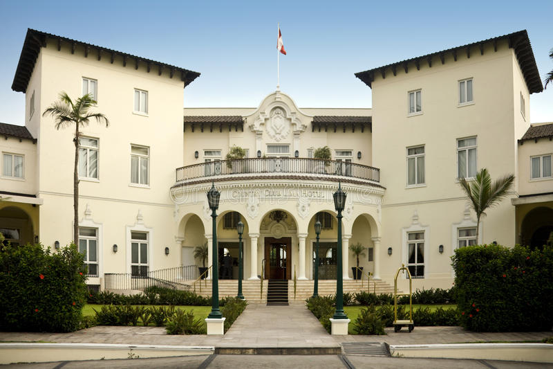 świetlicowy kraj hotelowy Lima Peru obraz royalty free