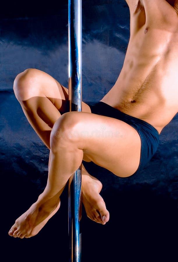 świetlicowy tancerzy noc striptease fotografia royalty free