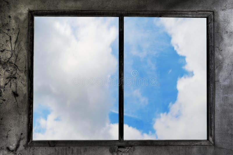 świetlik okno zdjęcie stock