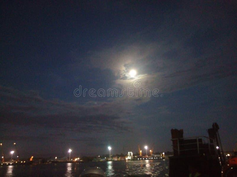 Świetność Mr księżyc fotografia royalty free