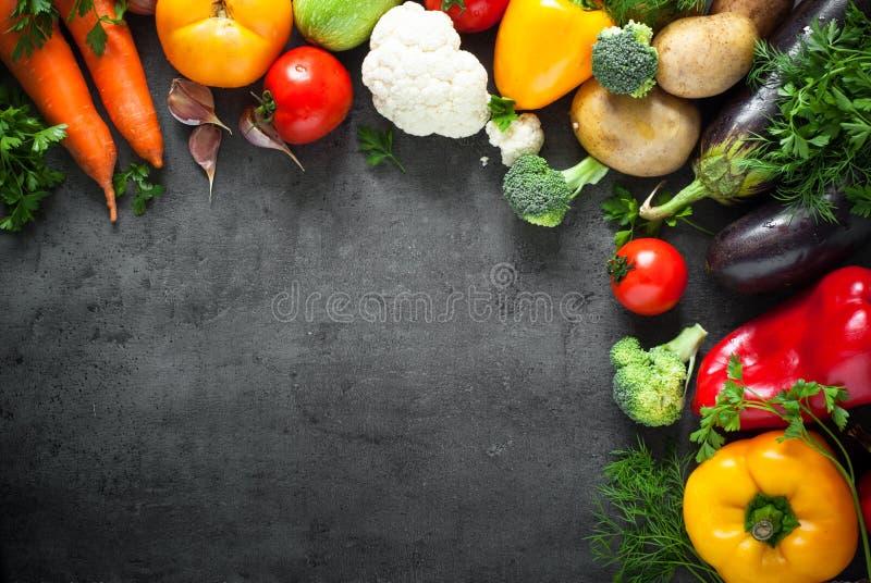 Świezi średniorolni warzywa fotografia stock