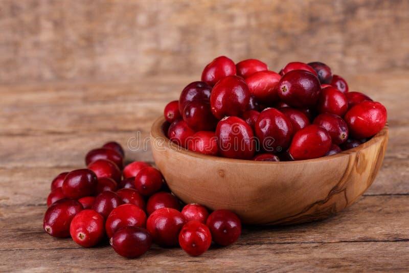 Świezi cranberries obrazy royalty free